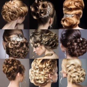 klassische Hochsteckfrisuren Haarverlängerung