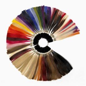 verschiedene Farbe Haarverlängerung