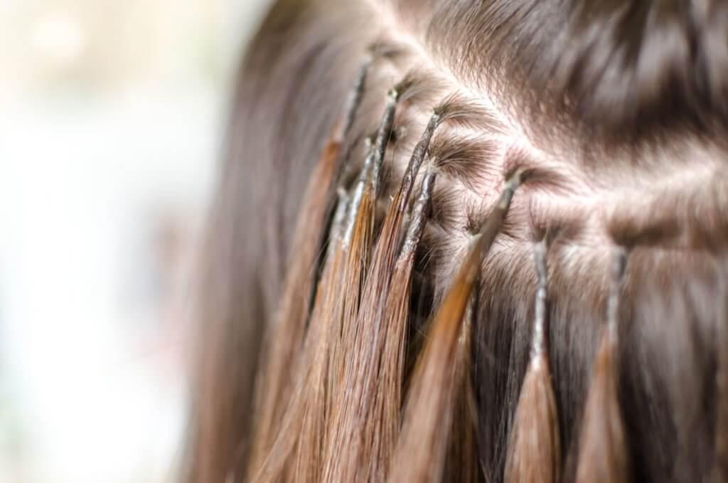 Haarverlängerung Arten: Microring-Extensions